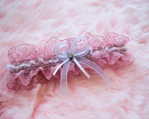 Liga novia rosa Love Story