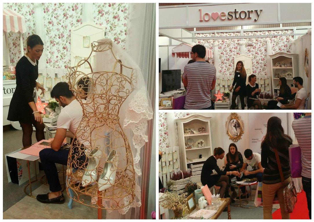 Love Story. Feria Nupzial. stand novios