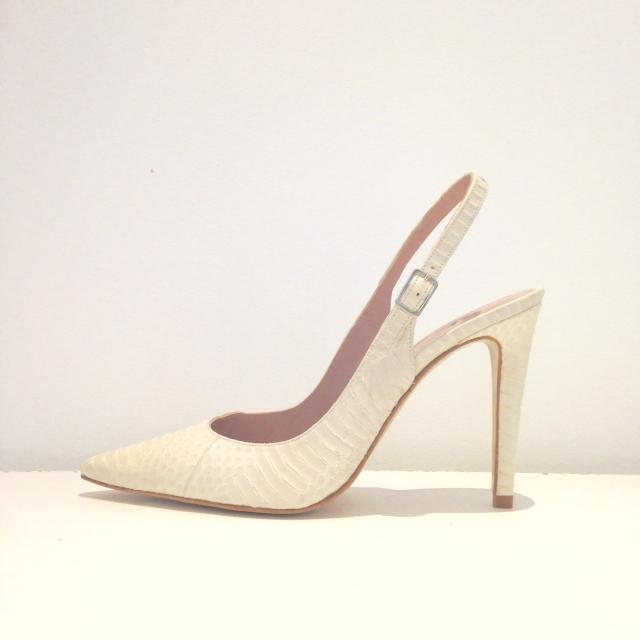 Zapato Pitón hielo Mariló Domingiez Love Story