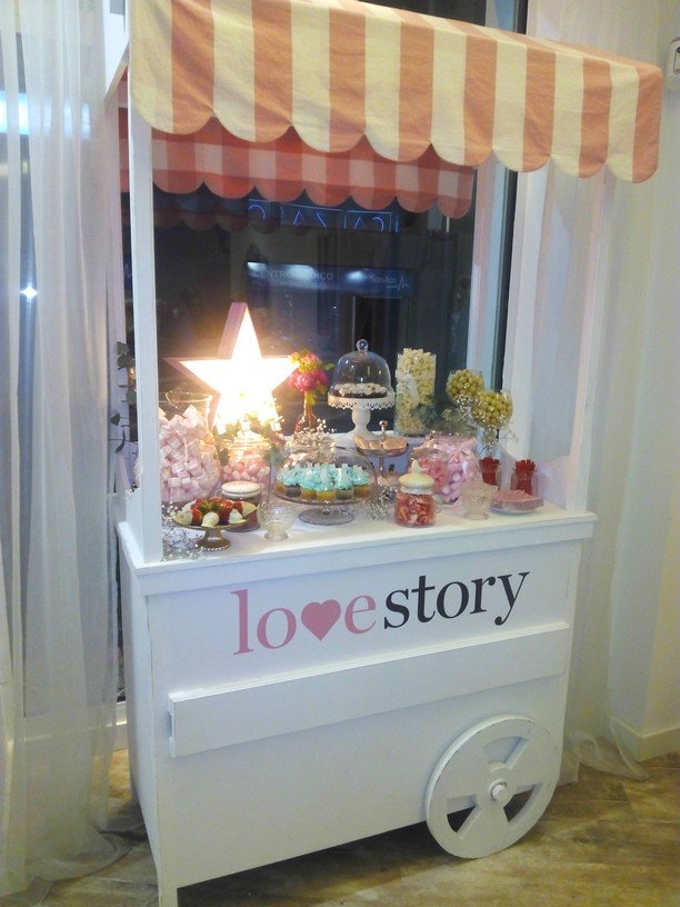 1Love Story. Primer aniversario. Candy bar