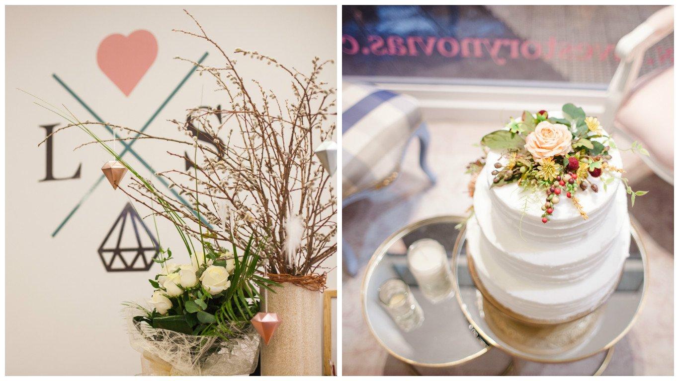 Love Story Novias. Primer aniversario. Flores