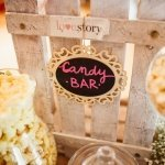 Candy Bar-Decoración de Bodas Love Story