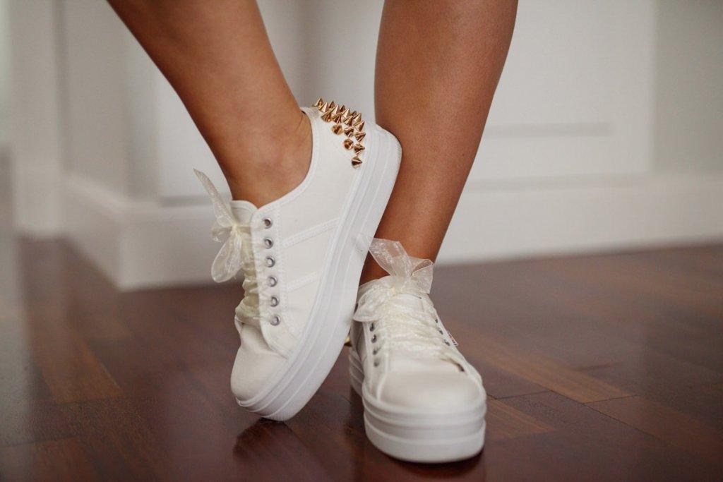 Zapatillas Custom-Decoración de Bodas Love Story