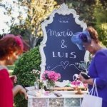 Rincón Bienvenida-Decoración de Bodas Love Story