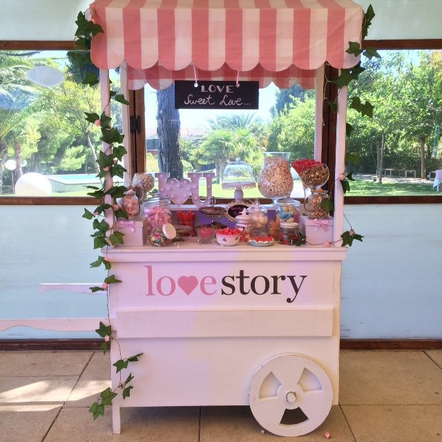 Wedding Planner Love Story Novias-Candy Car