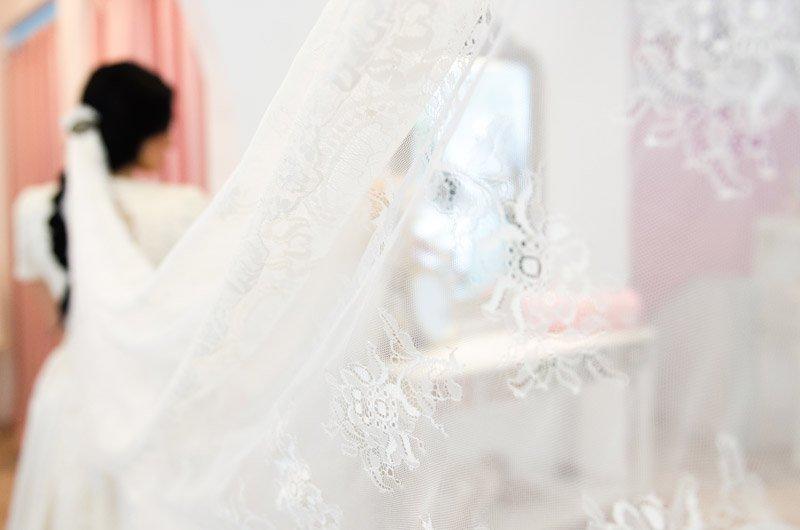 velo de novia perfecto en love story novias | boutique novias zaragoza