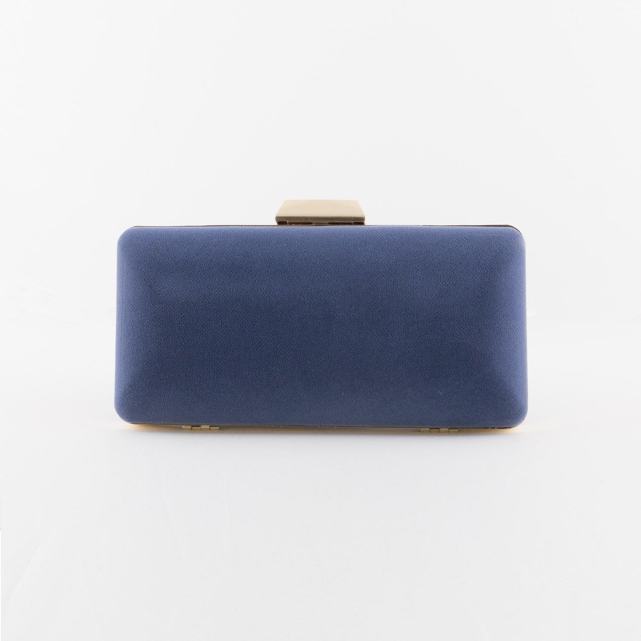 9b9eb51e Bolso Clutch de Fiesta color azul