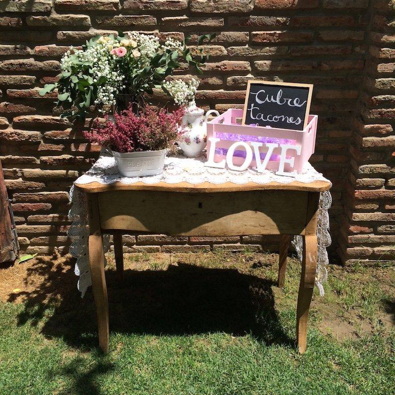 decoracion integral de boda Lidia Alex Love Story Novias 10