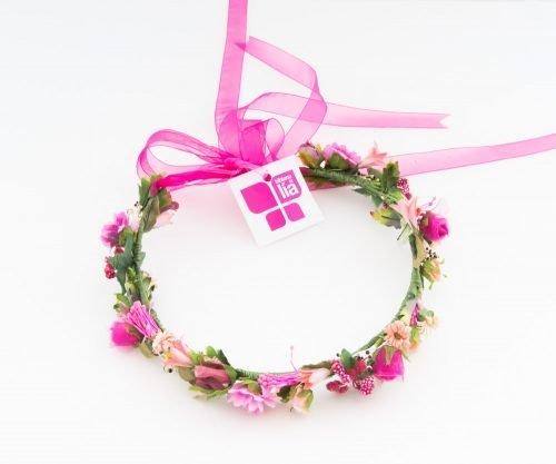 tocado_corona_pink_love_story_novias_zaragoza