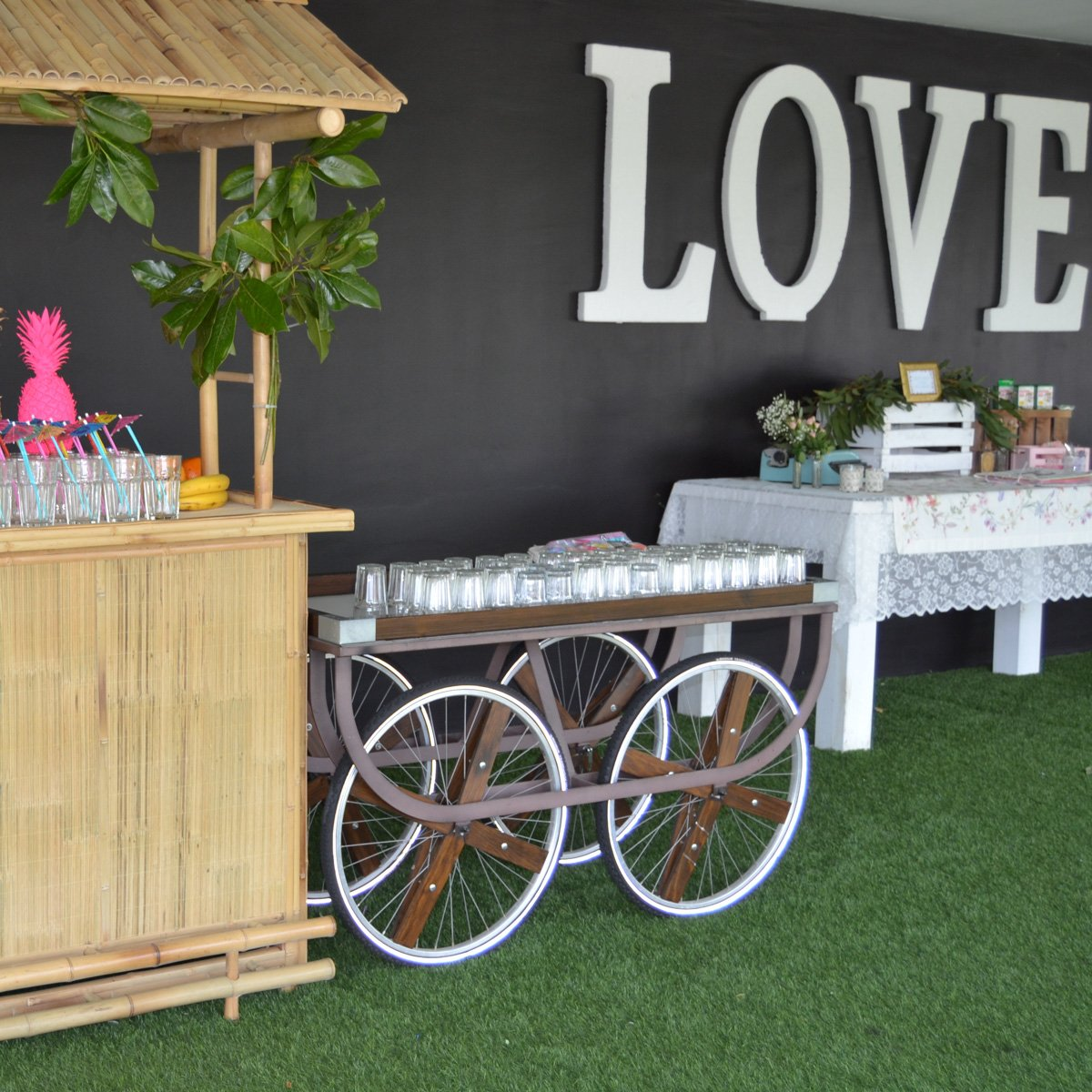 Lemonade Bar - Boda LoveStory - decoracion boda zaragoza