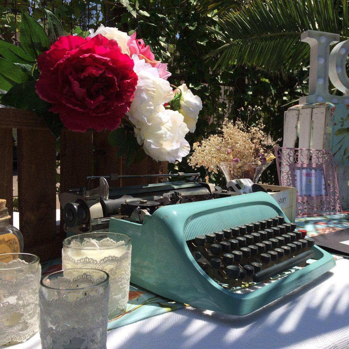 mesa de firmas boda lovestory - decoracion boda zaragoza