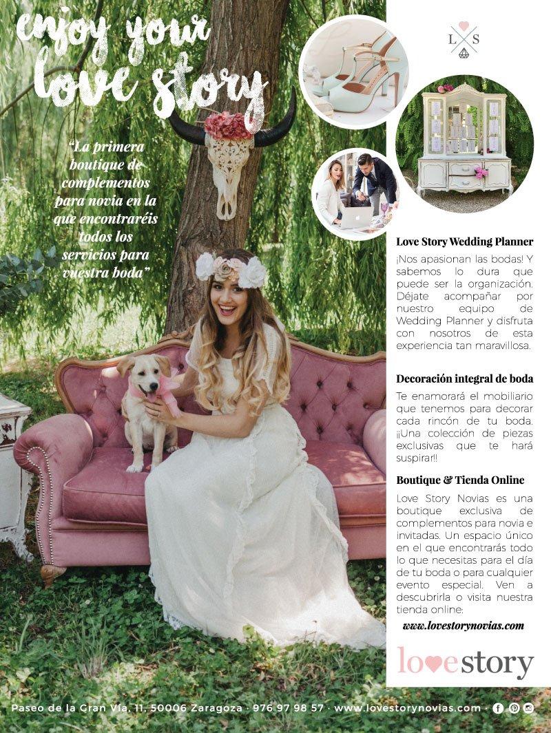wedding planner zaragoza love story novias telva