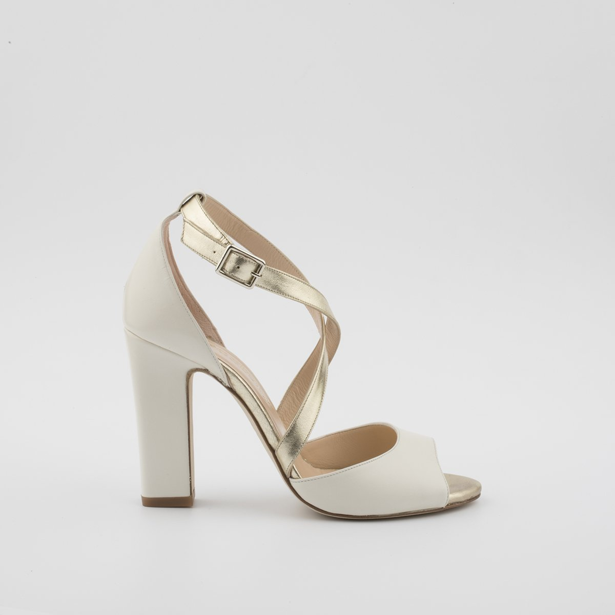 Abril shoes Sandalias Cuero Marrón ClaroTacón: 3 cm LaRNcK