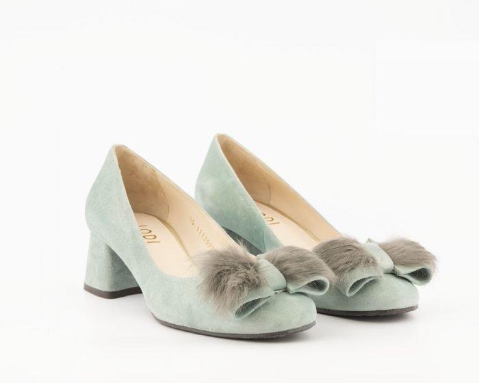 zapato novia invierno