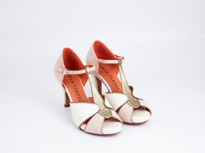 sandalia novia