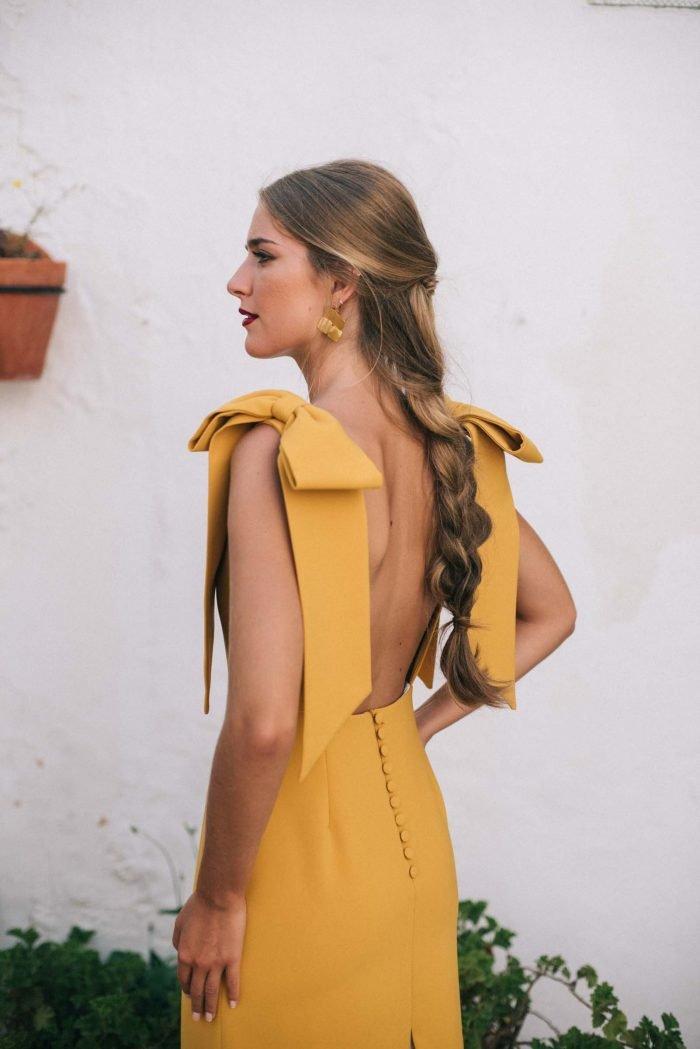 vestido-invitada-lucine-mostaza