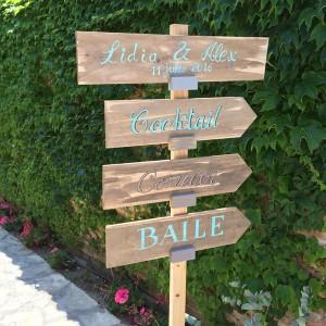 Carteles Boda Love Story Novias Wedding Planner Zaragoza