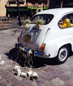 Coche de boda Love Story Novias Wedding Planner Zaragoza
