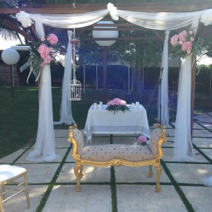 Decoracion Ceremonia boda Love Story Novias Wedding Planner Zaragoza