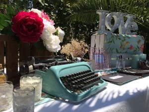 Mesa de Firmas boda Love Story Novias Wedding Planner Zaragoza